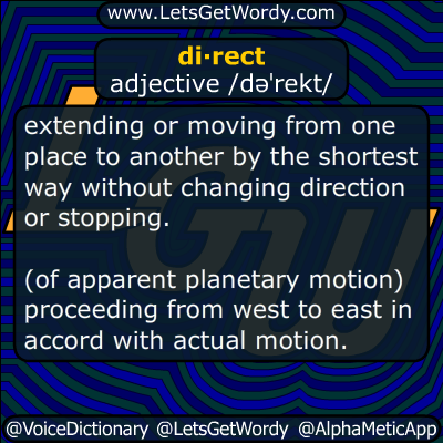 direct 01/15/2015 GFX Definition