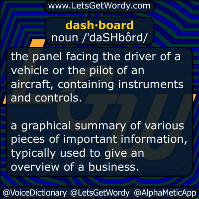 dashboard 02/05/2015 GFX Definition