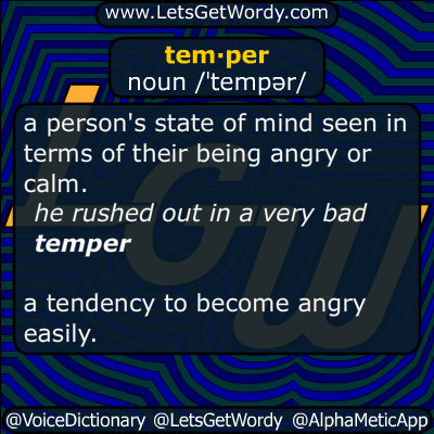 temper 04/11/2015 GFX Definition