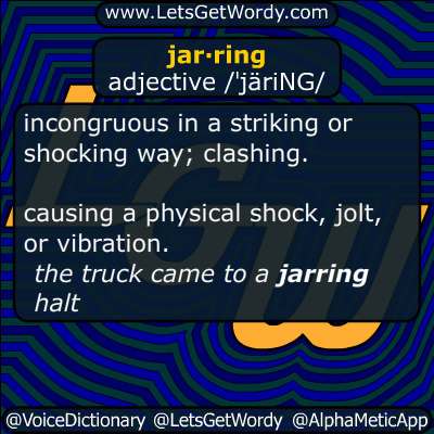jarring 04/17/2015 GFX Definition
