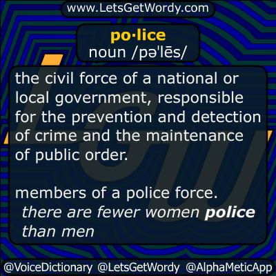 police 05/22/2015 GFX Definition