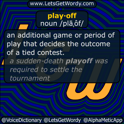 playoff 09/15/2014 GFX Definition