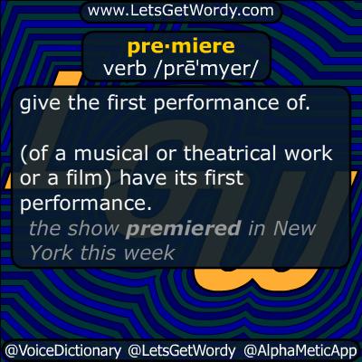 premiere 10/13/2014 GFX Definition