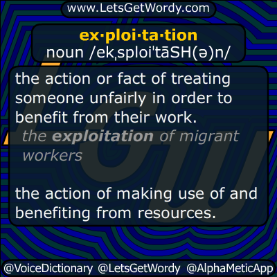 exploitation 10/15/2014 GFX Definition