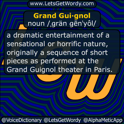 Grand Guignol 10/28/0214 GFX Definition
