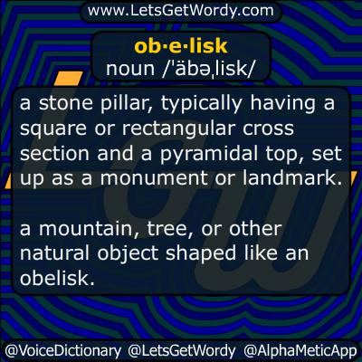 obelisk 11/16/2014 Definition