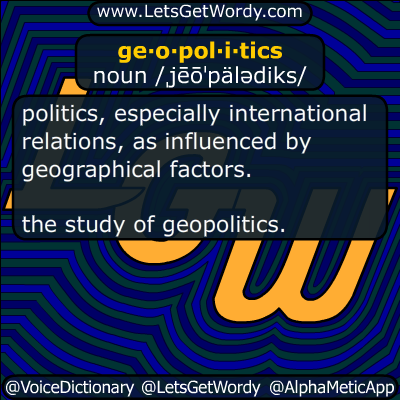geopolitics 11/22/2014 GFX Definition