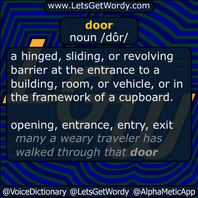 door 11/30/2014 GFX Definition