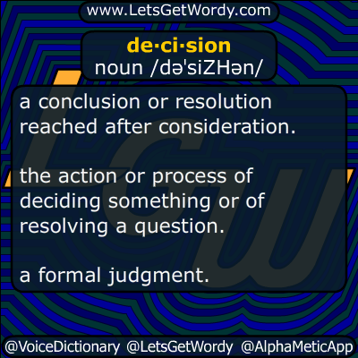 decision 12/04/2014 GFX Definition