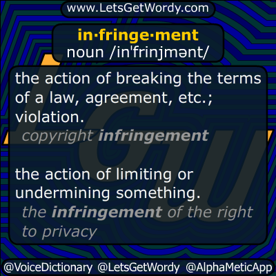 infringement 12/10/2014 GFX Definition