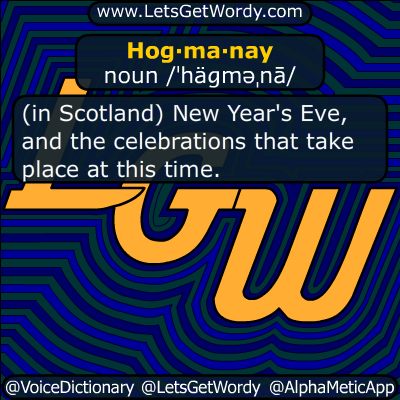 Hogmanay 12/31/2014 GFX Definition