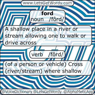 Ford 01/01/2013 GFX Definition of the Day