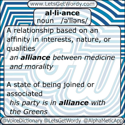 Alliance 01/13/2013 GFX Definition of the Day
