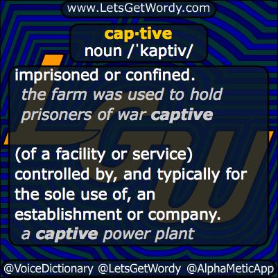 captive 01/20/2014 GFX Definition