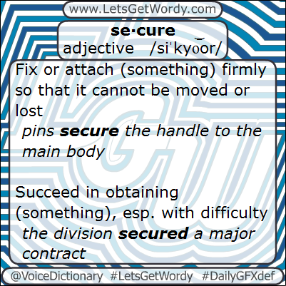 Secure 02/08/2013 GFX Definition of the Day