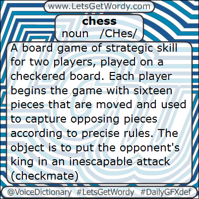 Chess 02/10/2013 GFX Definition of the Day