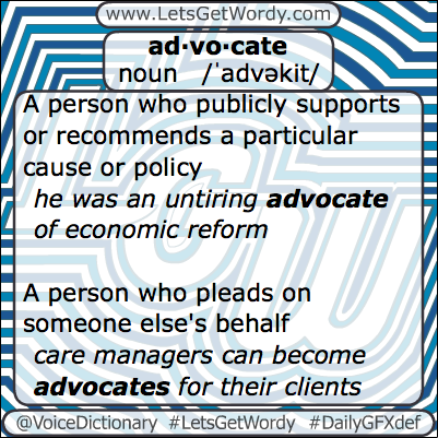 Advocate 02/21/2013 GFX Definition of the Day