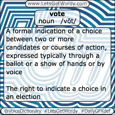 Vote 03/15/2013 GFX Definition of the Day