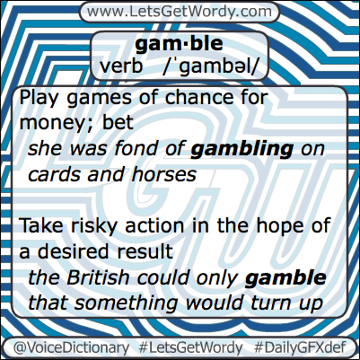 Gamble 03/19/2013 GFX Definition of the Day
