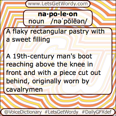 Napoleon 04/11/2013 GFX Definition of the Day