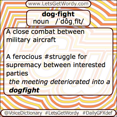 Dogfight 04/14/2013 GFX Definition of the Day