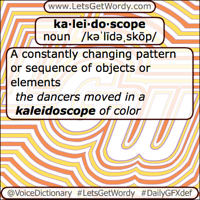 Kaleidoscope 04/16/2013 GFX Definition of the Day