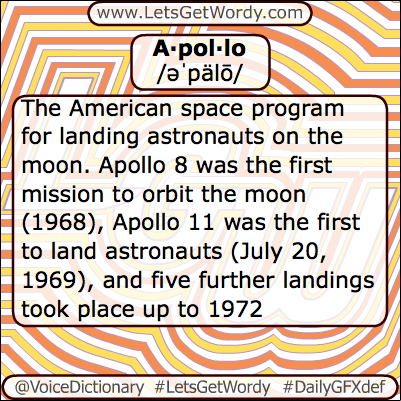 Apollo 05/05/2013 GFX Definition of the Day