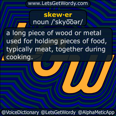 skewer 05/12/2014 GFX Definition