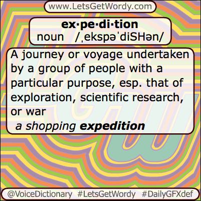 Expedition 05/14/2013 GFX Definition of the Day