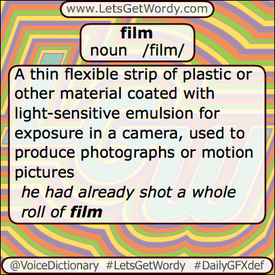 Film 05/16/2013 GFX Definition of the Day