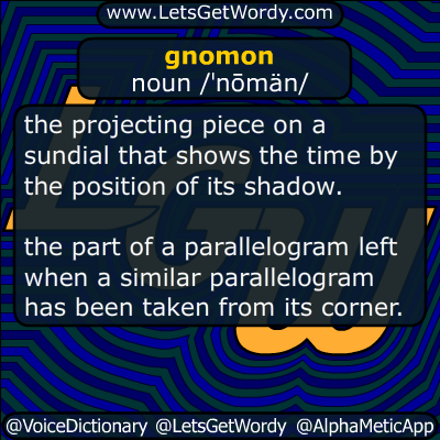 gnomon 06/04/2014 GFX Definition