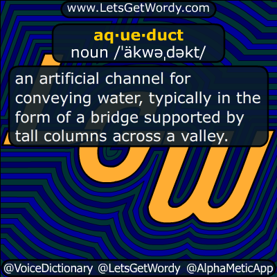 aqueduct 06/09/2014 GFX Definition