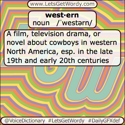 Western 06/11/2013 GFX Definition of the Day