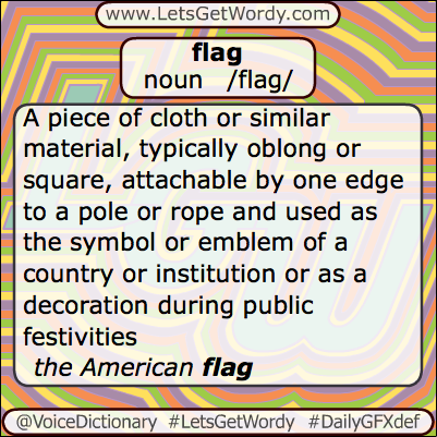 Flag 06/14/2013 GFX Definition of the Day