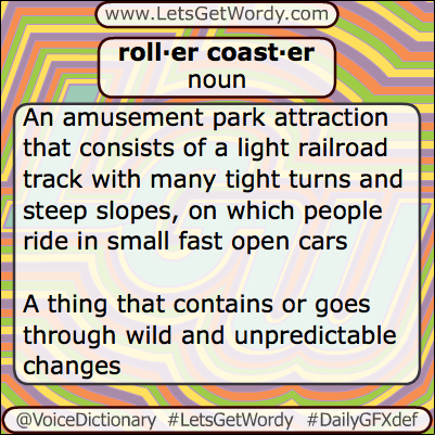 Roller coaster 06/16/2013 GFX Definition of the Day