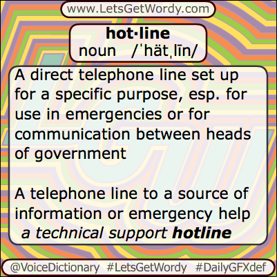 Hotline 06/20/2013 GFX Definition of the Day