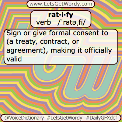 Ratify 06/21/2013 GFX Definition of the Day
