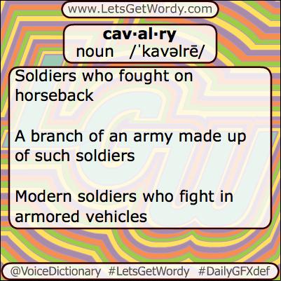 Cavalry 07/03/2013 GFX Def