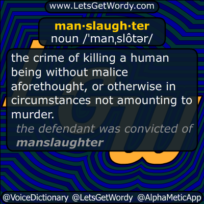 manslaughter 07/11/2014 GFX Definition