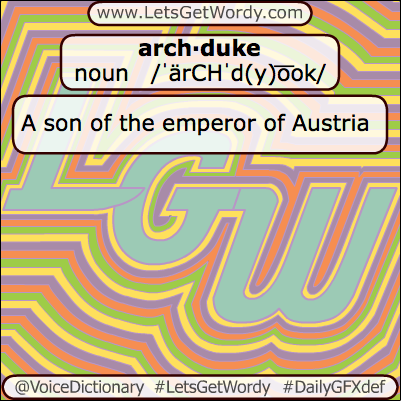 Archduke 07/13/2013 GFX Definition