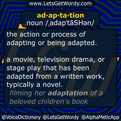adaptation 08/01/2014 GFX Definition