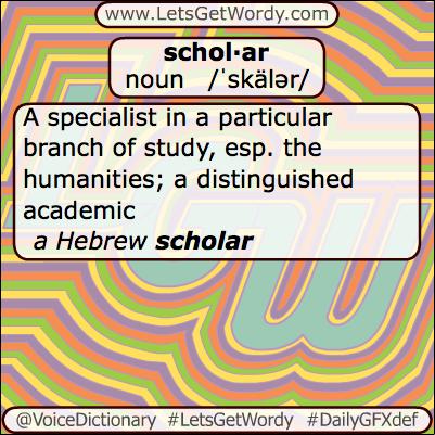 Scholar 08/07/2013 GFX Definition