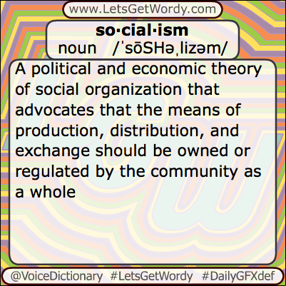 Socialism 08/18/2013 GFX Definition