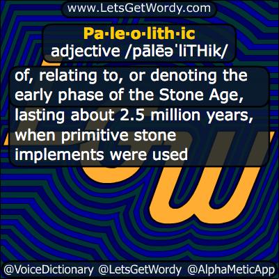 Paleolithic 09/12/2013 GFX Definition