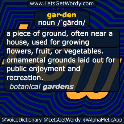 Garden 09/15/2013 GFX Definition