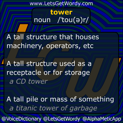 tower 09/20/2012 GFX Definition of the Day