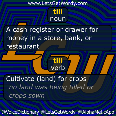 Till 09/22/2012 GFX Definition of the Day