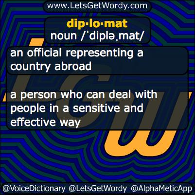 Diplomat 09/24/2013 GFX Definition