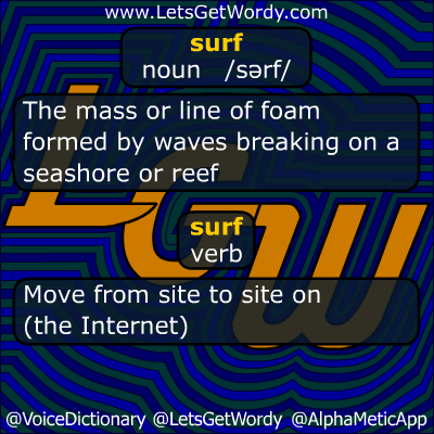 Surf 10/01/2012 GFX Definition of the Day