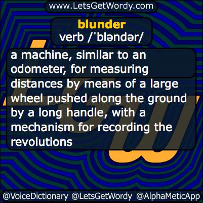 Blunder 10/03/2013 GFX Definition
